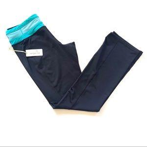 Tangerine Straight Leg Yoga Pant Black Leggings M